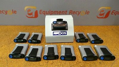 Rados ADR-1 Personal Radiation Detector Dosimeter Pager Charger Alarm Lot of 11