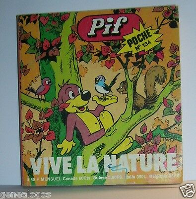 LIVRE BANDE DESSINEE BD MADE IN FRANCE ARNAL 194 PAGES PIF POCHE N°134 a