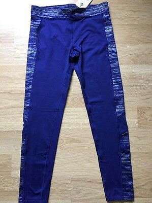 Under Armour Pants Youth XL Purple Performance Cold Gear NWT