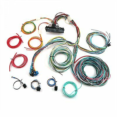 Auto Wire Harness Re-Wiring Kit for any 74-78 Ford Mustang 12v American Standard
