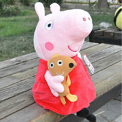 New Peppa Pig Family Stuffed Toy Plush Doll 19CM/7.5inch Peppa Kids Gift