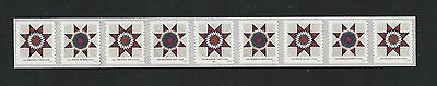 2016 #5098-5099 Star Quilts PNC9 25 Cents Presorted First Class Stamps