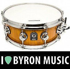 Natal 13 X 5.5 Inch Stave Snare Drum Maple Amber