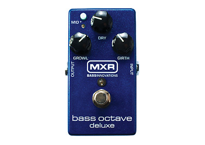 MXR Bass Octave Deluxe Effects Pedal