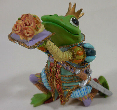 Sir Hop A Lot Camelot Frogs Sculpture Hamilton Collection 1996 Nice