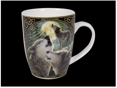"Lisa Parker ""Wolfsong"" Bone China Mug Wolf Wolves"