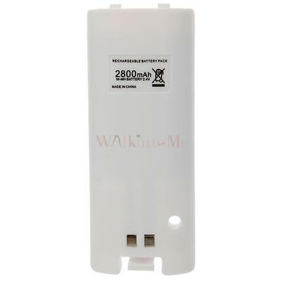 Durable 2800mAh Rechargeable Battery Pack For Nintendo Wii Controller UK Ship