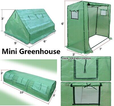 New Hot Green House Larger Outdoor Plant Gardening Mini & Walk-in Greenhouse