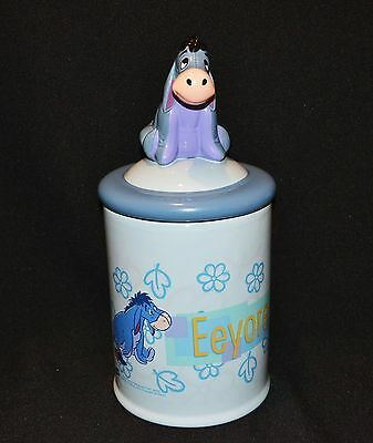 Disney Eeyore Cookie Jar Authentic A.A Milne & E.H Shepard 30cm