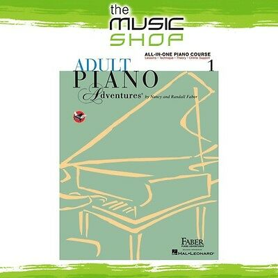 Adult Piano Adventures: All in One Piano Course Lesson Book 1