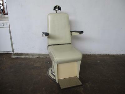 C31071 Vintage TAKATA OPHTHALMIC Hydraulic Optometrist Chair