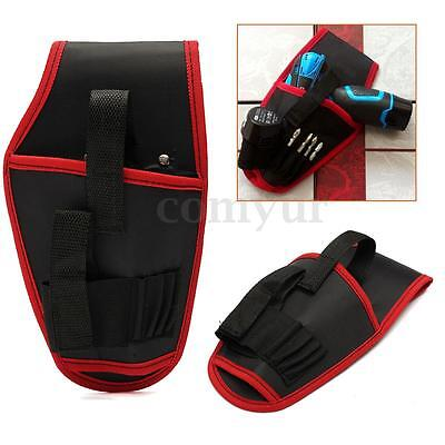 Heavy Duty Waterproof Drill Holster Storage Holder Pouch Belt Universal Tool Bag