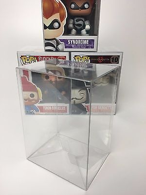 "10 Funko Pop! Protectors For 4"" Vinyls - Perfect Fit, Acid-Free, Crystal Clear!"
