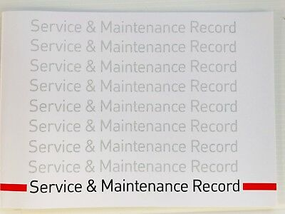 TOYOTA Commercials Service Book New Unstamped History Maintenance Record