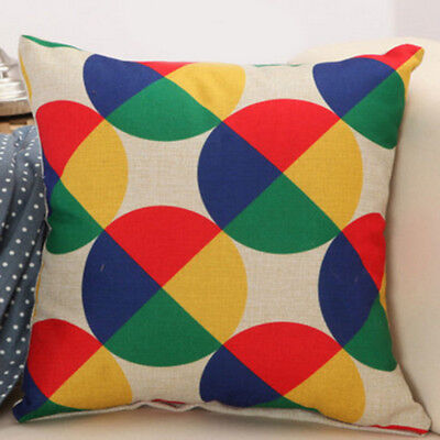 fashion english alphabet pattern cushion cover office home s