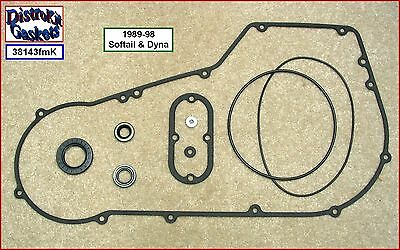 Primary Cover Gasket and Seal Kit 1989-1998 Softail & Dyna Harley, 60539-89