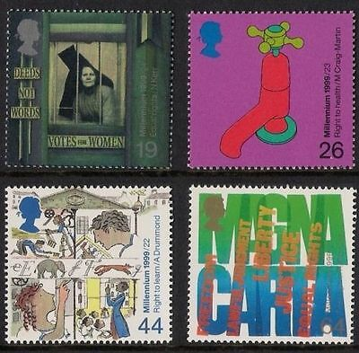 GB MNH STAMP SET 1999 Citizens' Tale SG 2098-2101 UMM