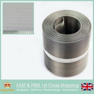 Insect Screen - Stainless Steel Soffit Vent Mesh - 150mm x 30.5 metre roll