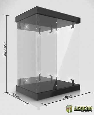 MASTER LIGHT:ACRYLIC DISPLAY CASE with LIGHTING 1/6 Accessory for Action Figure