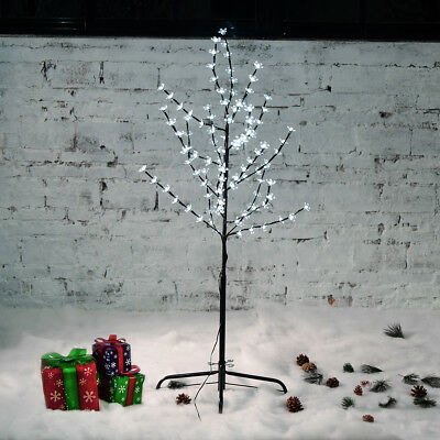 1.2M 108LED Cherry Blossom Tree light XMAS Party Indoor Outdoor Decoration Gift