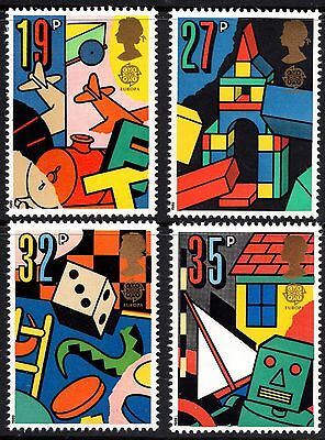 GB MNH STAMP SET 1989 Europa Games & Toys SG 1436-1439 10% OFF FOR ANY 5+