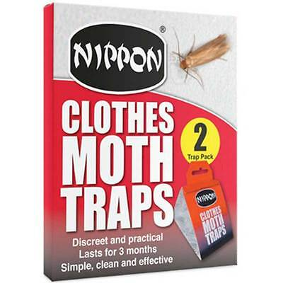 Nippon Clothes Moth Traps 2 trap pack