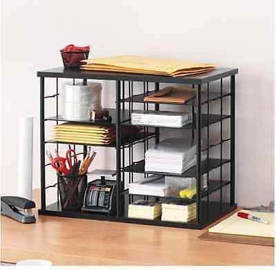 executive desk organizer school home office holder storage desktop letter sorter