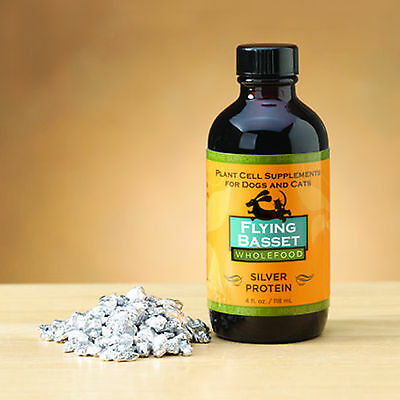 Flying basset Silver Protein - 4oz for Dogs and cats