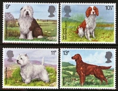 GB MNH STAMP SET 1979 Dogs SG 1075-1078 10% OFF FOR ANY 5+