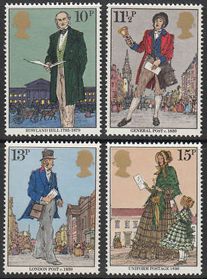 GB MNH STAMP SET 1979 Sir Rowland Hill SG 1095-1098 10% OFF FOR ANY 5+