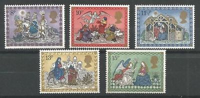 GB MNH STAMP SET 1979 Christmas Nativity SG 1104-1108 10% OFF FOR ANY 5+