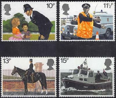 GB MNH STAMP SET 1979 Metropolitan Police SG 1100-1103 10% OFF FOR ANY 5+