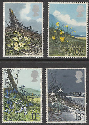 GB MNH STAMP SET 1979 Spring Wild Flowers SG 1079-1082 10% OFF FOR ANY 5+