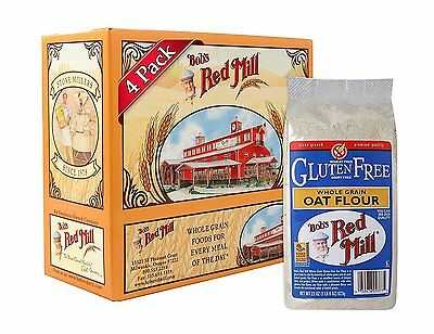 Bobs Red Mill Gluten Free Oat Flour, 22-ounce Pack of 4
