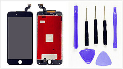 Black LCD Display+Digitizer OEM Screen Replacement For iPhone 6S Plus W/Tool Set
