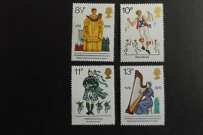 GB MNH STAMP SET 1976 British Cultural Traditions SG 1010-1013 10% OFF ANY 5+