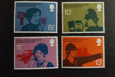 GB MNH STAMP SET 1976 Telephone Centenary SG 997-1000 UMM