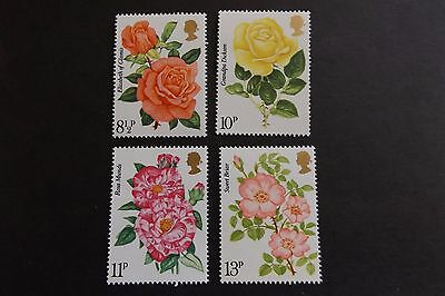 GB MNH STAMP SET 1976 Roses SG 1006-1009 10% OFF FOR ANY 5+