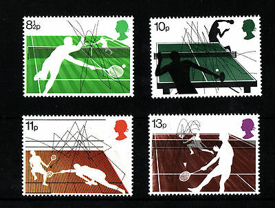 GB MNH STAMP SET 1977 Racket Sports SG 1022-1025 10% OFF FOR ANY 5+