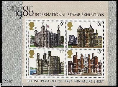 GB MNH Stamp Miniature Sheet British Architecture SG MS1058. 1978