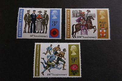 GB MNH STAMP SET 1971 Anniversaries SG 887-889 10% OFF FOR ANY 5+