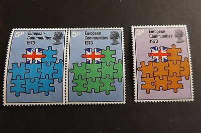 GB MNH STAMP SET 1973 European Communities SG 919-921 10% OFF FOR ANY 5+