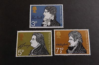 GB MNH STAMP SET 1971 Literary Anniversaries SG 884-886 10% OFF FOR ANY 5+