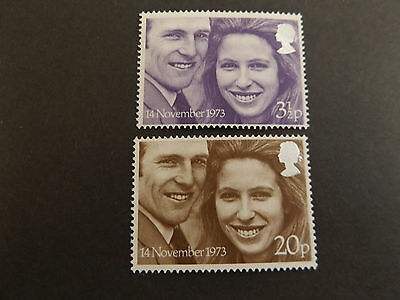 GB MNH STAMP SET 1973 Royal Wedding SG 941-942 10% OFF FOR ANY 5+