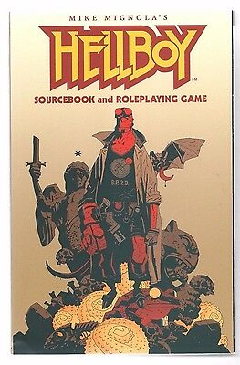 Hellboy: Sourcebook and Roleplaying Game - Mike Mignola (2002, SC) GURPS 1st ED.