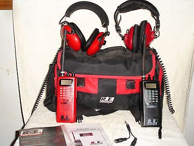 Pair Of Re2000 Alpha Portable  Racing Scanner
