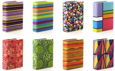 Assorted Prints 8inch X 10inch Stretchable Fabric Book Covers New