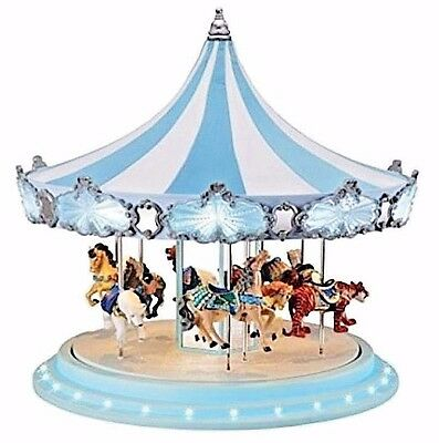 Mr Christmas Frosted Carousel **new** 79151