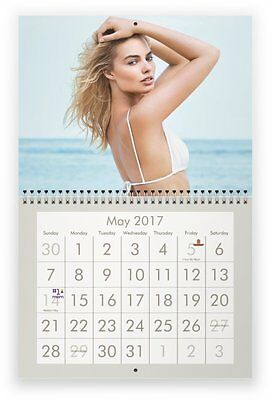 MARGOT ROBBIE 2017 Wall Calendar