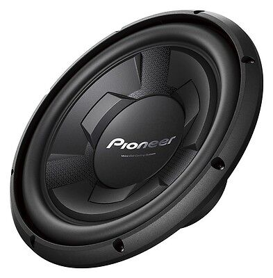 "Pioneer Champion Series TS-W126M 1300 Watts 12"" Single 4 Ohm Car Subwoofer New"